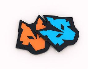 Symbol Fox 3D print model