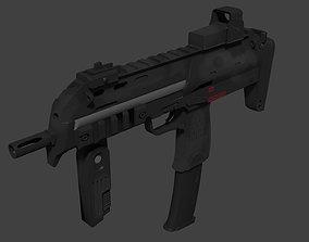 heckler MP7 Submachine Gun 3D
