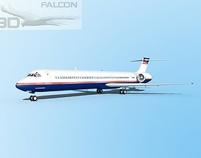 Falcon3D MD-80 Corporate 1 rigged