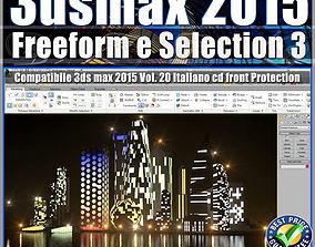 3ds max 2015 Freeform e Selection vol 20 cd