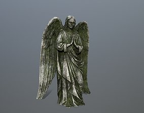 Angel Statue 4 3D asset