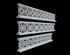 3D model Decorative railing