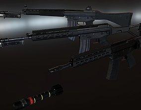 3D model Howa Type 89