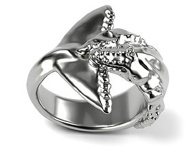3D printable model Humpback Whale Ring