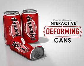 Interactive Deforming Cans 3D