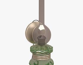 Old Oil Lamp 3D