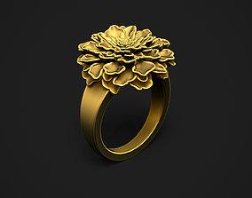 Marigold Ring 3D print model
