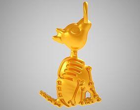 3D print model Crazy Dog Necklace