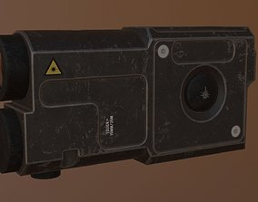 3D asset ZENITH laser sight