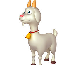 Cartoon Goat nose 3D model