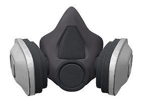 3D model Respirator Mask Game ready