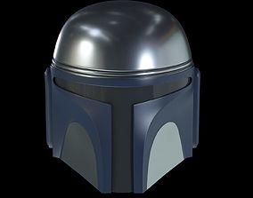 3D helmet of jango fett