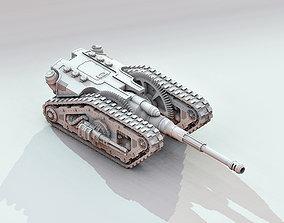3D print model Martian Nemausos Assault Tank