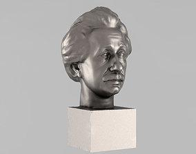 Printable bust of Einstein