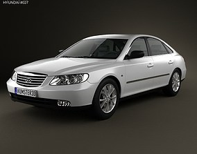3D model Hyundai Grandeur Azera 2011