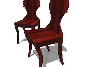 3D model Regency Hall Chair