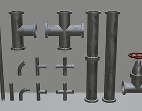 3D model Pipe collection
