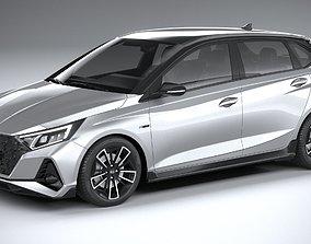 Hyundai i20 N-line 2021 3D