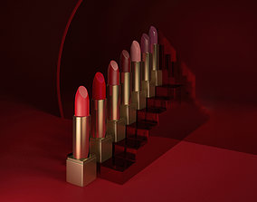 3D model Lipstick set