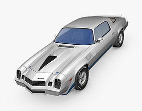 3D asset realtime Chevrolet Camaro Z28 1979