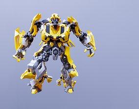 3D Transformers Bumblebee model print