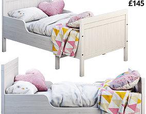 3D Ikea Sundvik 3 bed