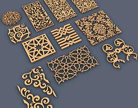 3D model interior Ornaments