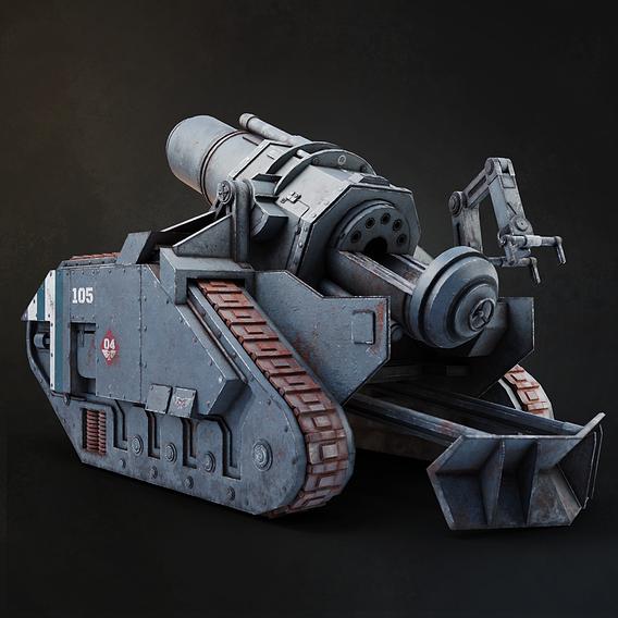 Warhammer 40k bombard