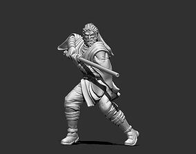 Jedi knight 3D print model - padawan 35 mm 1