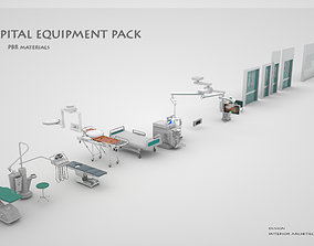 HOSPITAL EQUIPMENT PACK 3D bed