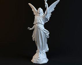 art Goddess Statue 3D print model