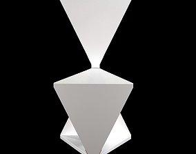 elfenbein white chair 3D model