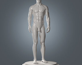 Human Body Anatomy and Skeleton Base Mesh 3D model