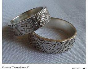 3D printable model Celtic ring
