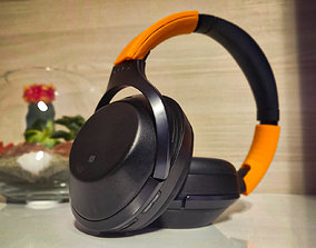 Sony MDR 1000X bracket 3D printable model audio