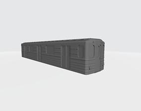 3D printable model O Scale Moscow Style Subway Metro Wagon