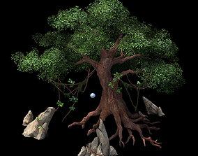 Game Model - Moon White Tree 02