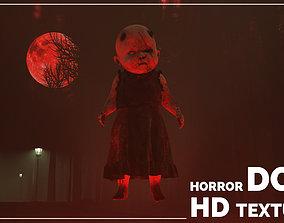 Horror Doll 3D model