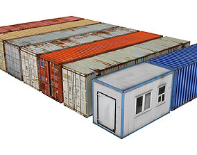 3D model Containers Pack