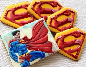 3D print model Superman cookie cutter for professional