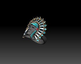 3D printable model Indian ring