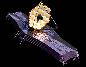 3D James Webb Space Telescope