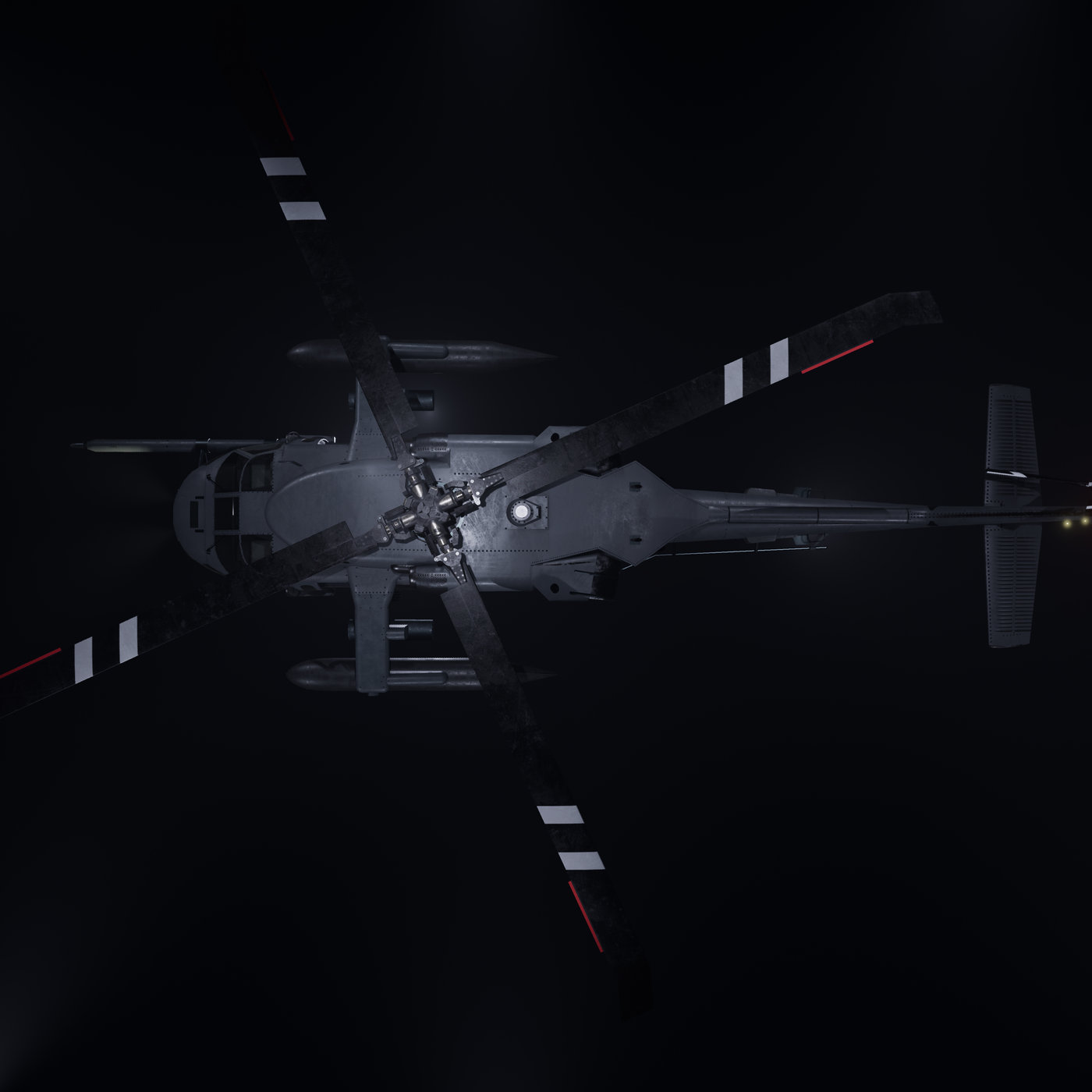 Helicopter - Asset for Games - CMV Props