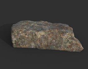 3D model realtime Free low poly Granite Rock
