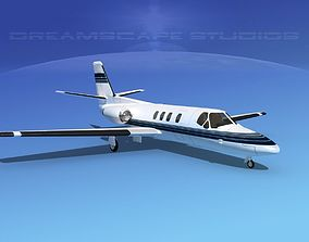 3D model Cessna 500 Citation I V05