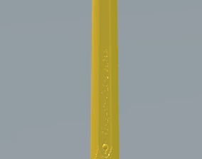 3D printable model Caliburn Golden Sword of the Victorious