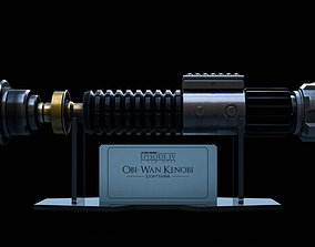 Obi-Wan Kenobi Lightsaber 3D model