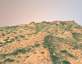 Utah Arches National Park Landscape 3D model