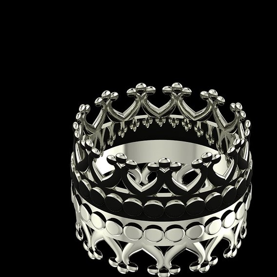 Crown Ring Collection