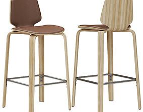 Normann Copenhagen My Chair Barstool 3D